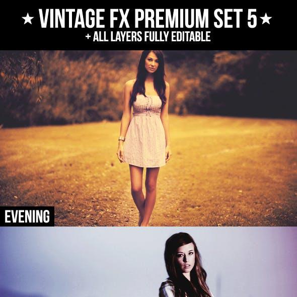 Vintage FX Premium Set 5