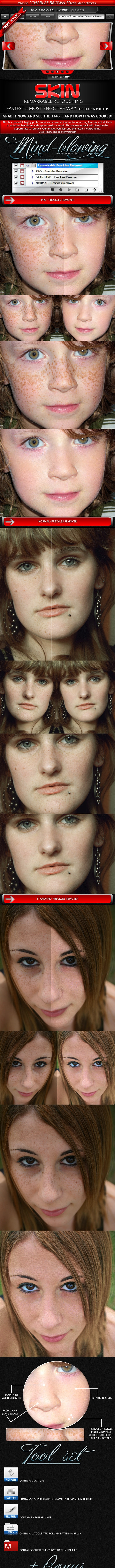 Remarkable Skin Retouching - Photo Effects Actions