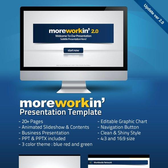 Moreworkin Business Powerpoint Presentation