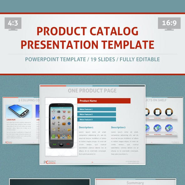 Product Catalog - PowerPoint Template