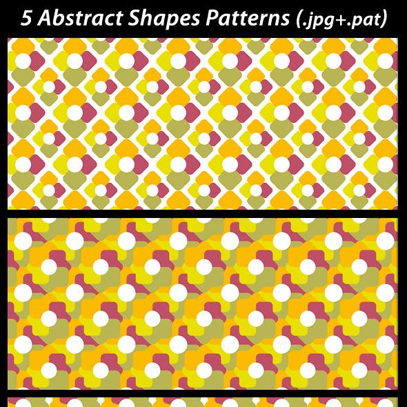 5 Abstract Shapes Patterns