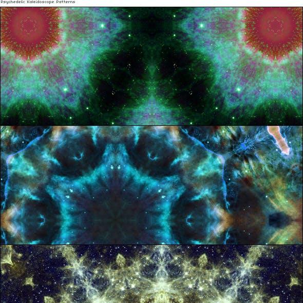 Psychedelic Kaleidoscope Pattens