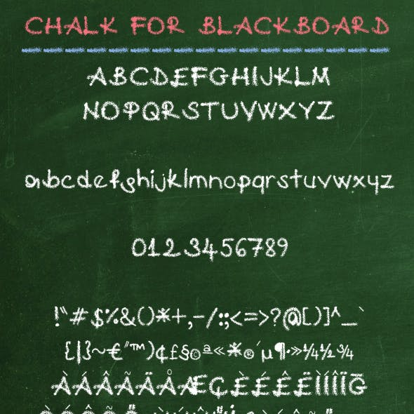 Chalk For Blackboard