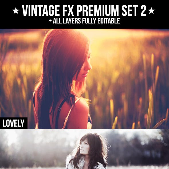 Vintage FX Premium Set 2