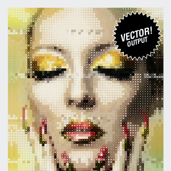 Ultimate Halftone & Mosaic Studio | VECTOR!