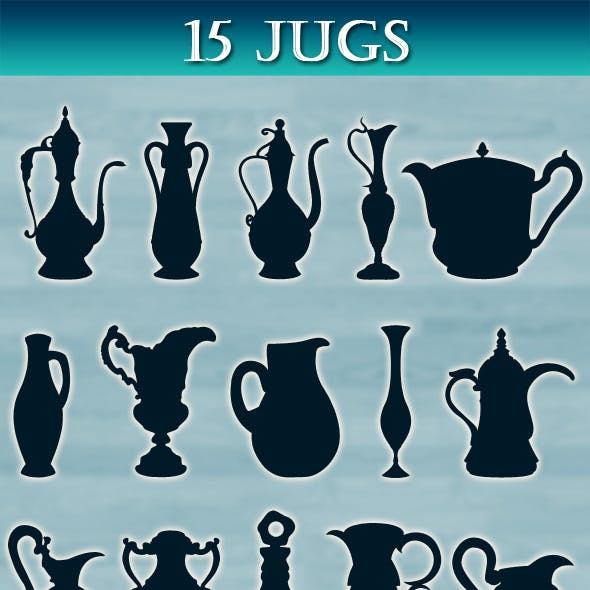 Jugs collection
