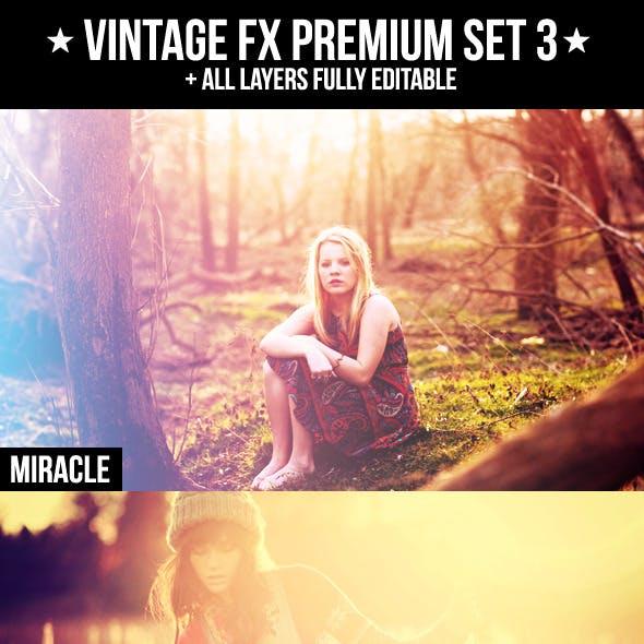 Vintage FX Premium Set 3