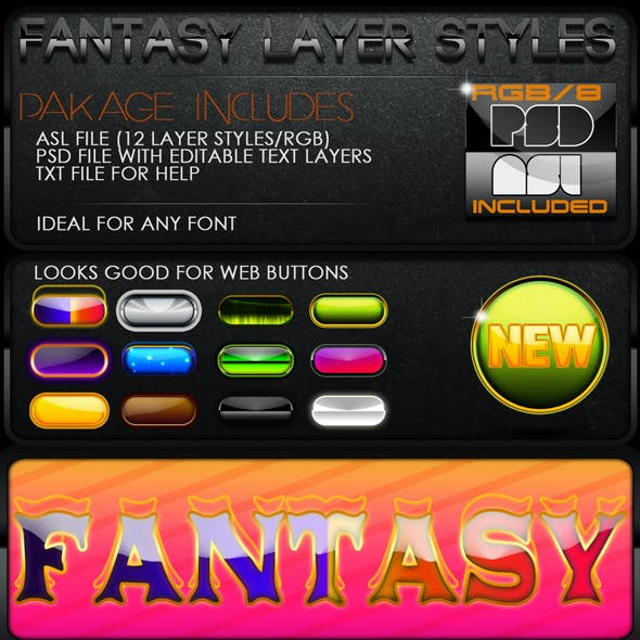 Fantasy Layer Styles
