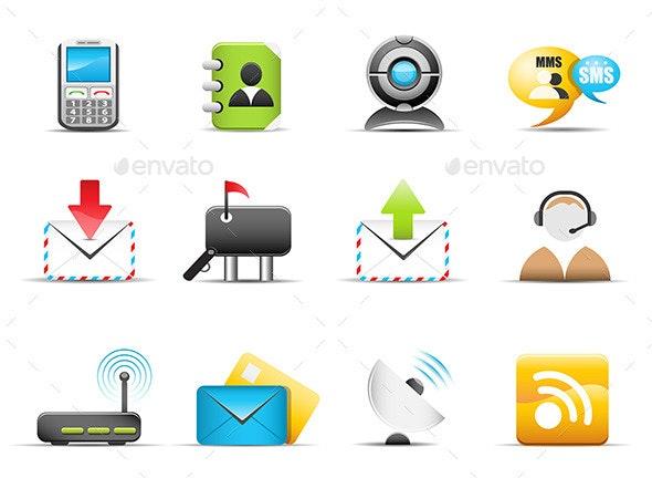 Communicaton Icons