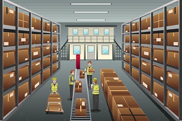 Distribution Warehouse - Commercial / Shopping Conceptual