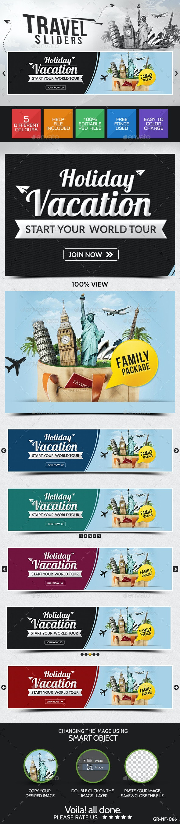 Holiday Sliders - Sliders & Features Web Elements