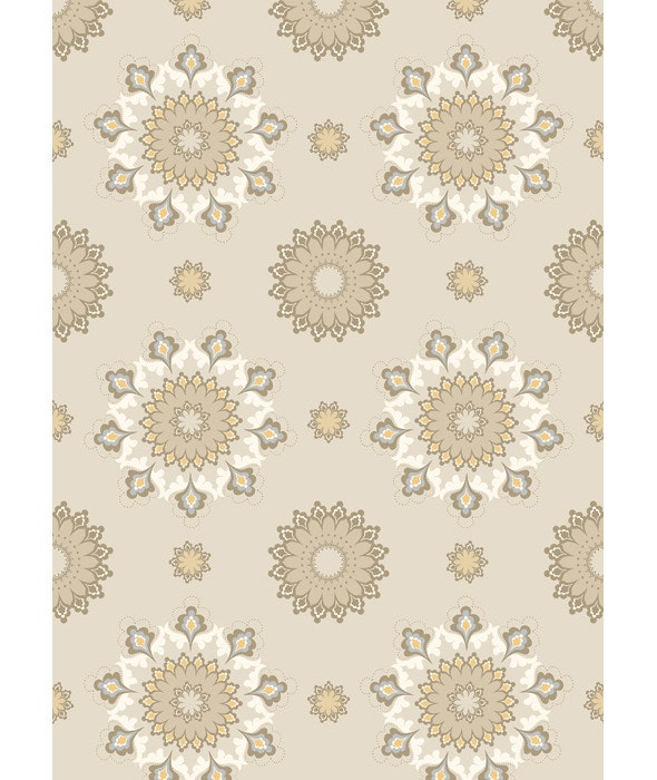 Light Seamless Classic Background with Brown Shade - Textures / Fills / Patterns Illustrator