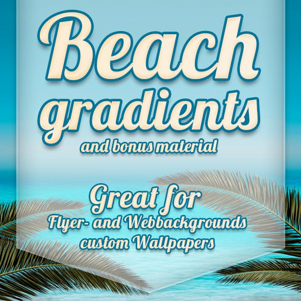 Beach Gradient and Bonus Materials