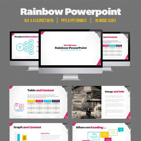 Rainbow Presentation