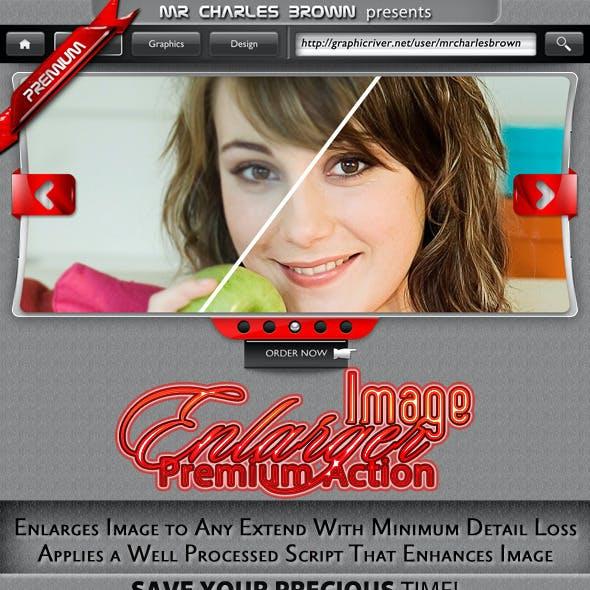 Magic Image Enlarger Premium Action