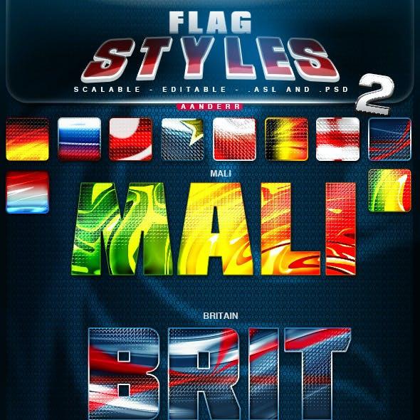 Flag Styles 2