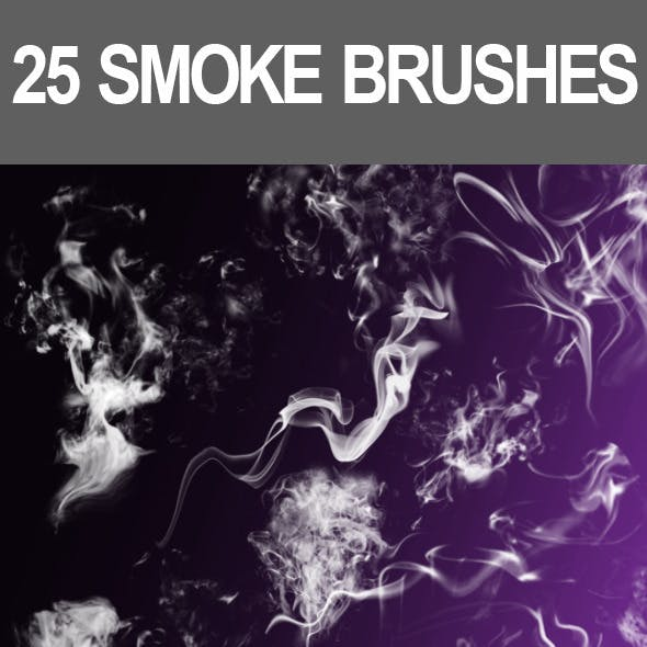 25 Smoke Brushes