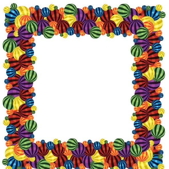 Colorful Balls Pattern Brush