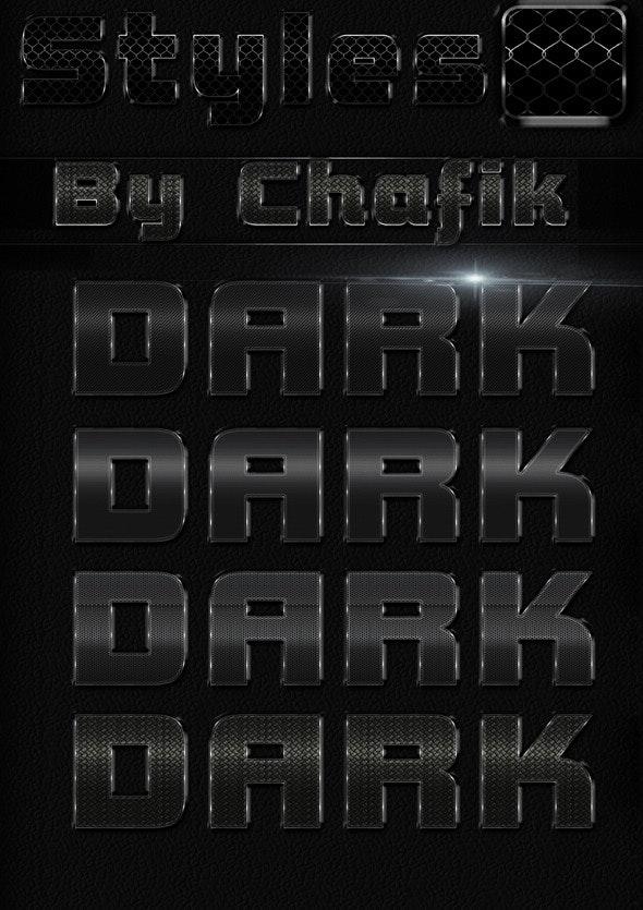 Dark Metal Styles - Text Effects Styles