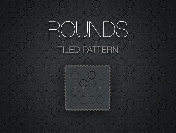 Rounds - Tiled Pattern - Techno / Futuristic Textures / Fills / Patterns