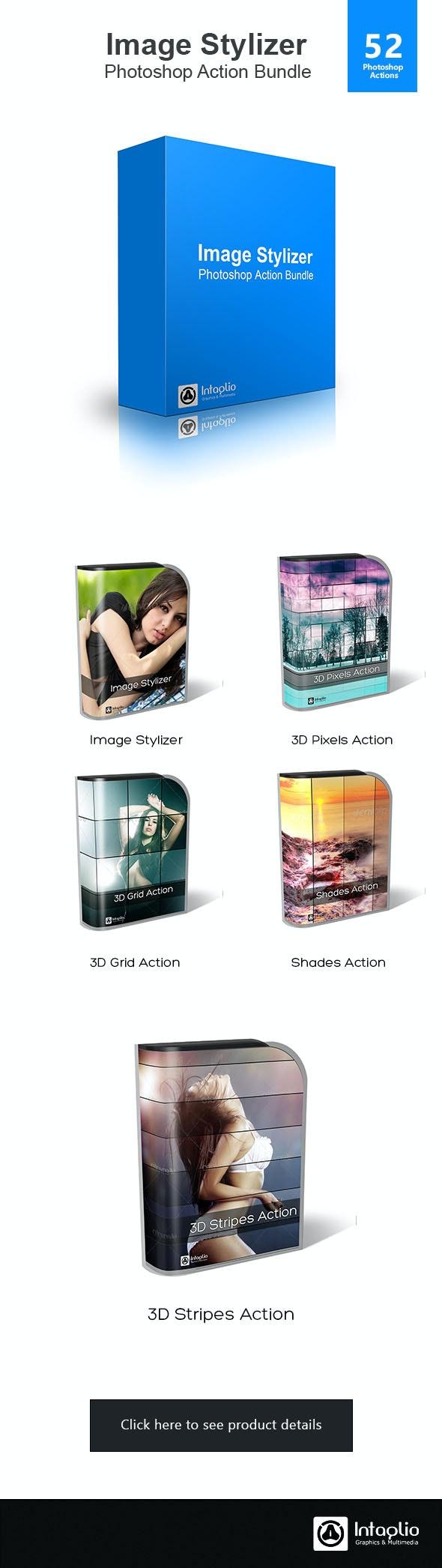 Image Stylizer Photoshop Action Bundle - Actions Photoshop