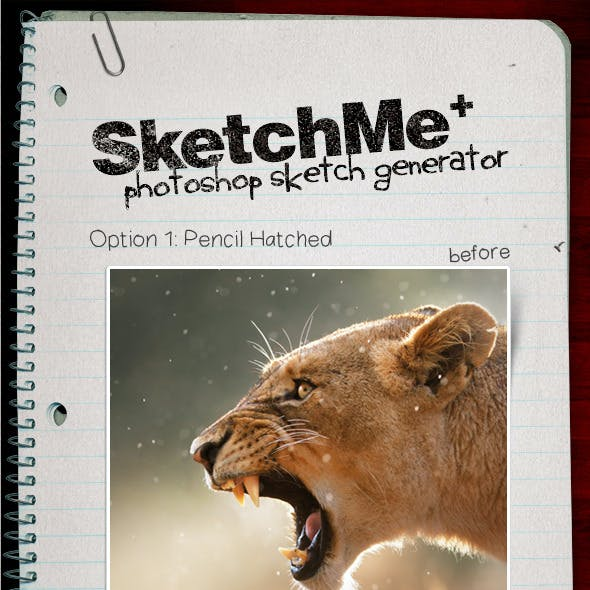 SketchMe Photo to Sketch Generator