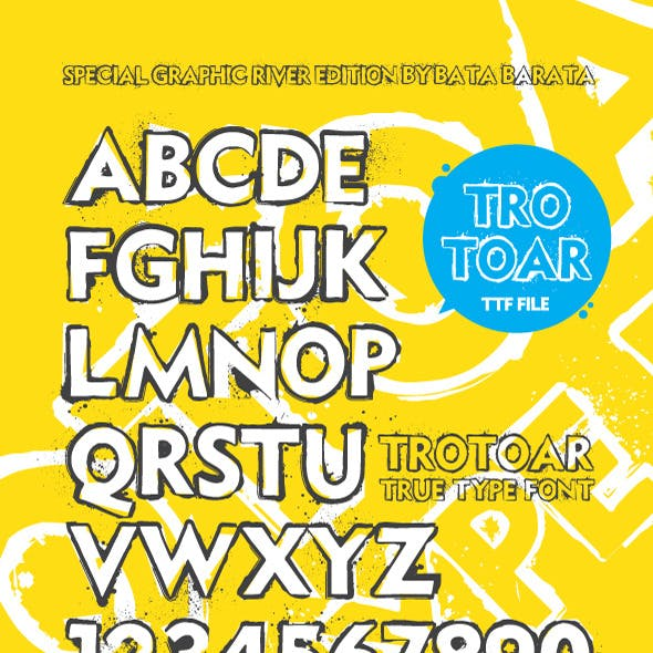 Grunge Fonts from GraphicRiver