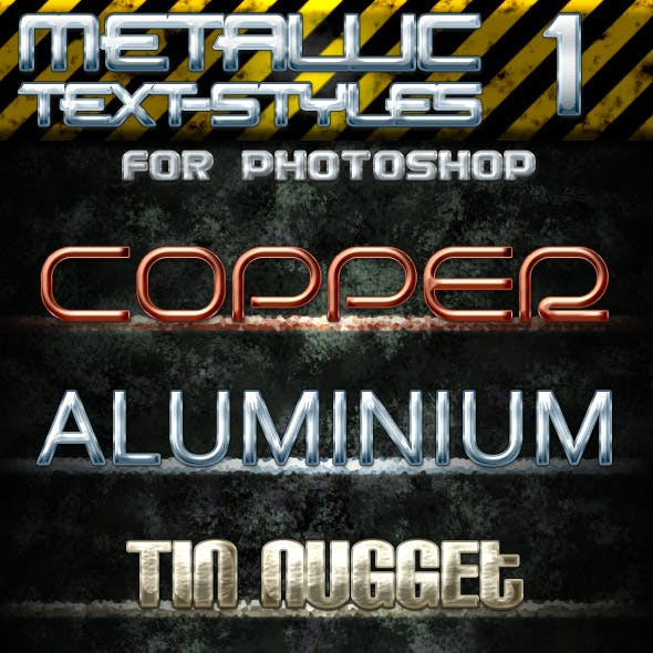 Metallic Text Styles 1