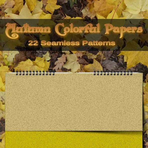 Autumn Colorful Seamless Papers