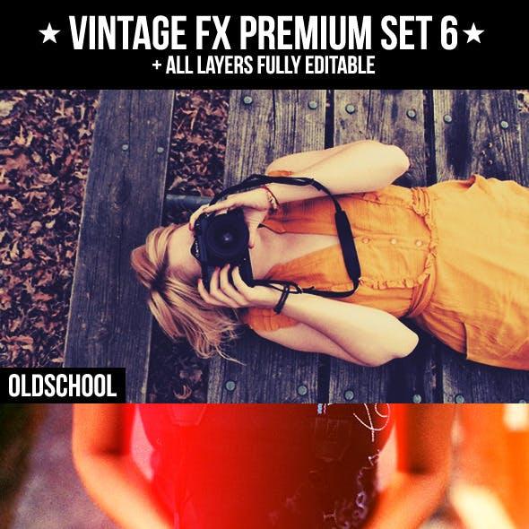 Vintage FX Premium Set 6