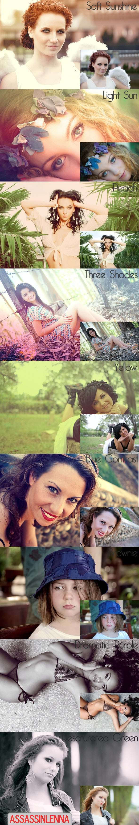 Photoshoot Pt.2 PS Effects - Photo Effects Actions