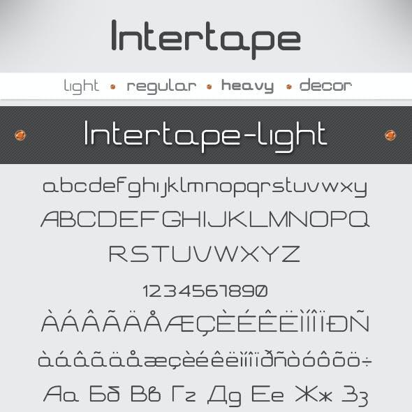 Intertape Font