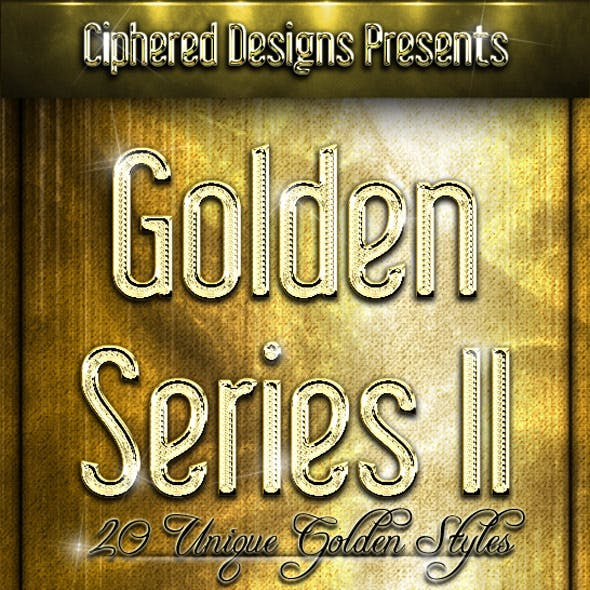 Golden Series II - Professional Layer Styles