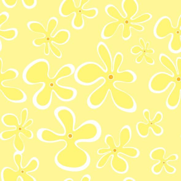 Summer Flowers Seamless Pattern - Artistic Textures / Fills / Patterns