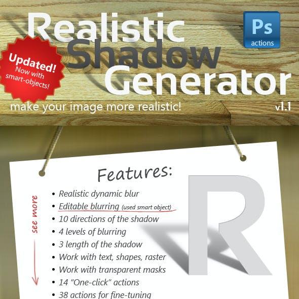 ShadowGen: Realistic Shadow Generator