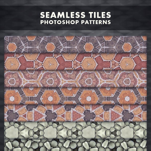 Seamless Tiles - Photoshop Patterns