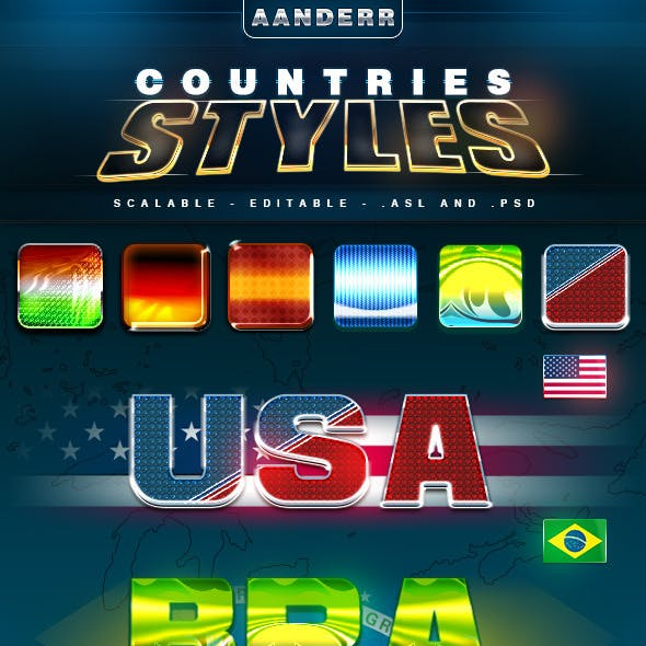 Countries Styles