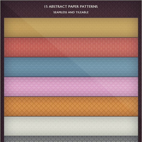 15 Abstract Paper Patterns