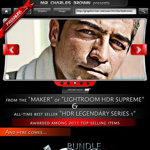 HDR Legendary Special Edition Pro Action Bundle