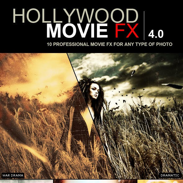 Hollywood Movie FX 4.0 | 10 Amazing Efects