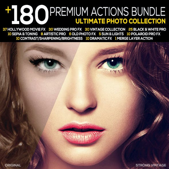 180+ Premium FX Action Bundle | Ultimate Collection
