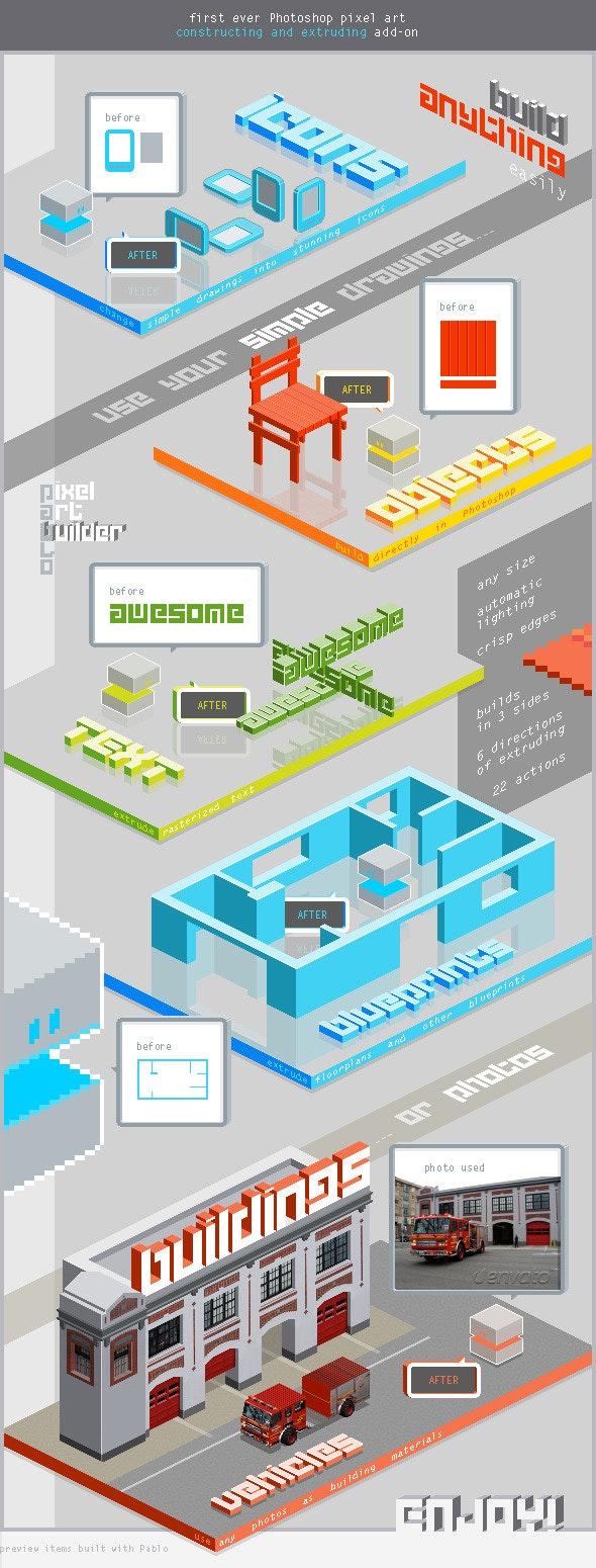 Pablo the Pixel Art Builder - Utilities Actions