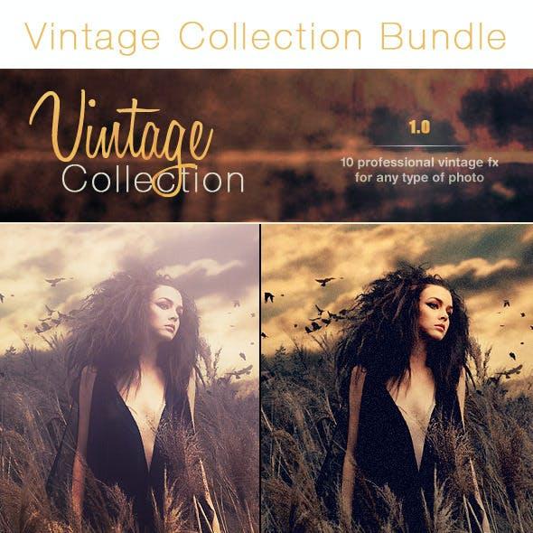 30 Vintage Pro Collection Photo Effects   Bundle