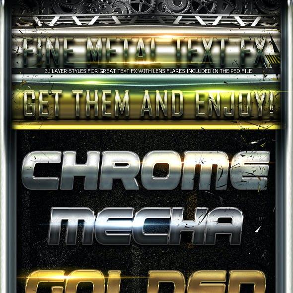 Fine Metal Text FX
