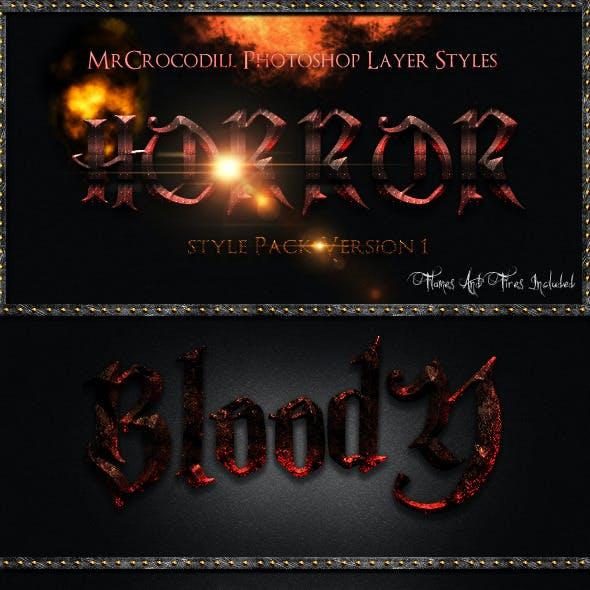 Horror Styles V1
