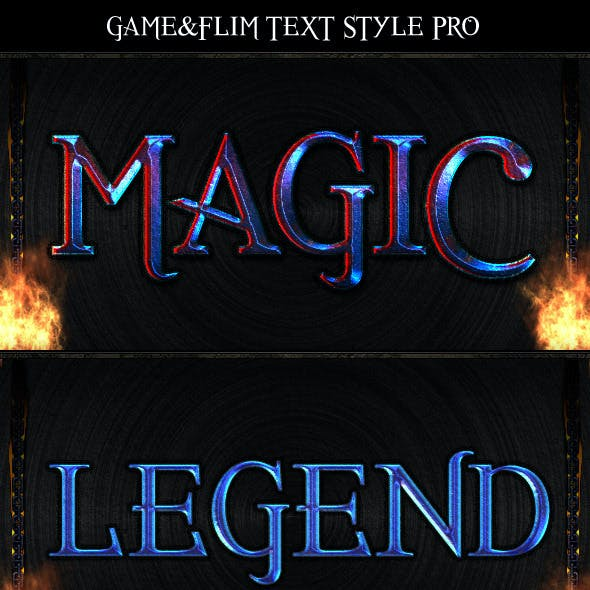 Game&Film Text Style Pro