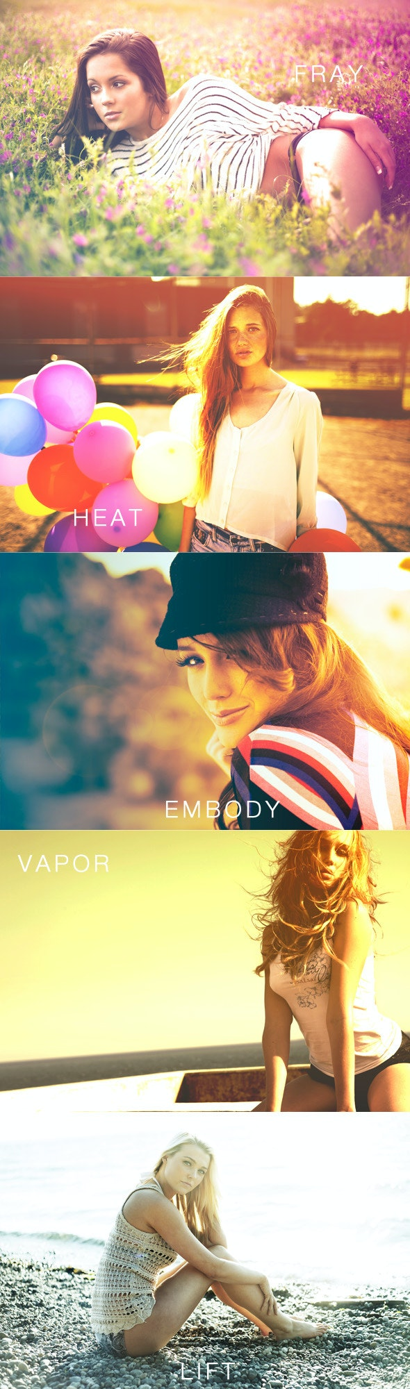 Fresh Summer Photography Actions - Photo Effects Actions