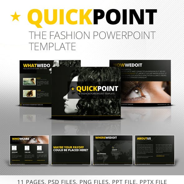Quickpoint Powerpoint Template