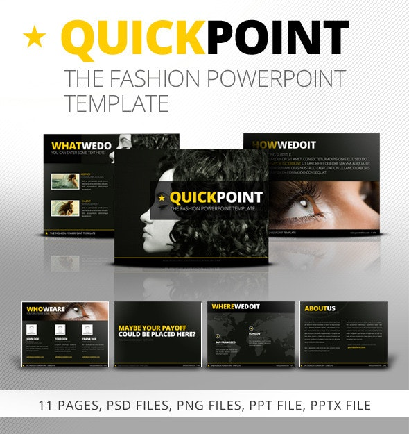 Quickpoint Powerpoint Template - PowerPoint Templates Presentation Templates