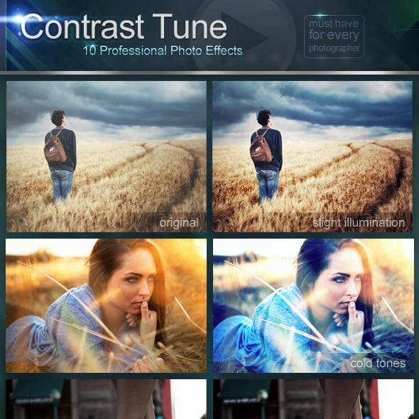 Contrast Tune - Professional Photo Effects